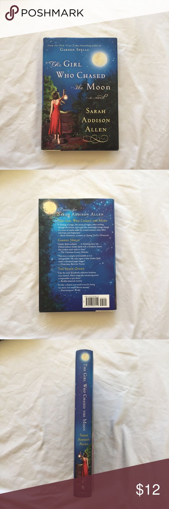 The Girl Who Chased the Moon - Sarah Addison Allen Brand new hardcover novel in perfect condition; never been read! Other