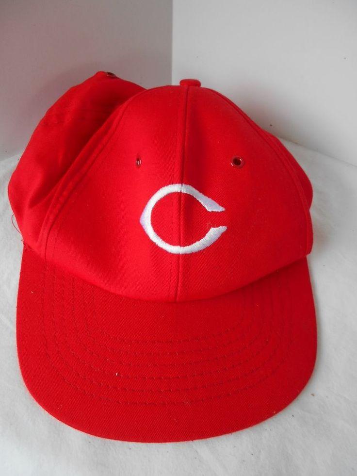 vtg cincinnati reds diet pepsi baseball hat cap snapback adjustable mlb 5 panel cincinnatiohio