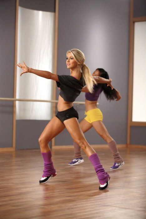 Julianne Hough's dance workout