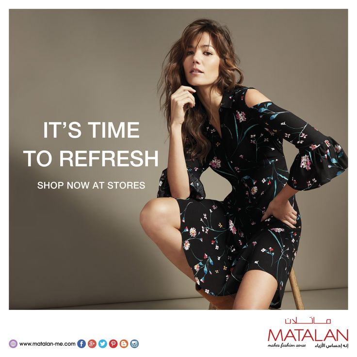 Fall in love with our dresses collection. Look stylish & smart in the office with our black & shift dresses or opt for a bardot or swing dress on the weekend for a fashionable look.  www.matalan-me.com  #matalanme #makesfashionsense #dresses #fabulous #style #wide #Selection #fashion #fashionblogger #ladies #gents #kids #home #offer #promotion #BTCFashion #UAE #Qatar #Oman #Bahrain #Jordan