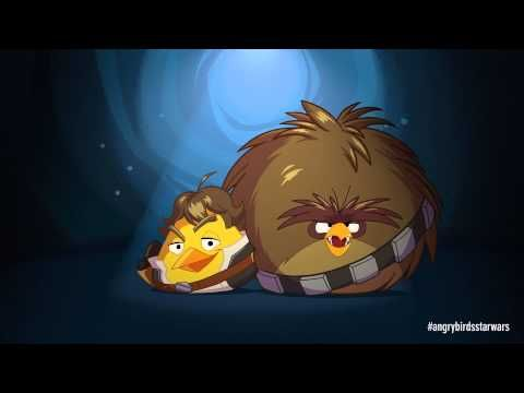 Angry Birds Star Wars: Han Solo & Chewie - exclusive gameplay | http://duivelsei.tumblr.com/