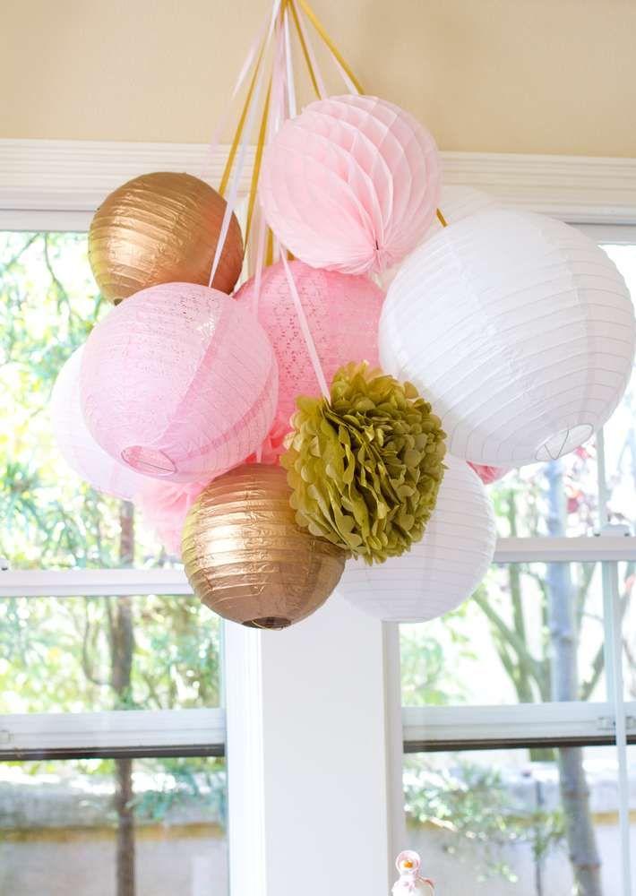 Birthday Party Ideas Paper Lantern Decorationsrose