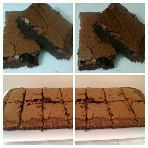 Delicia de brownies