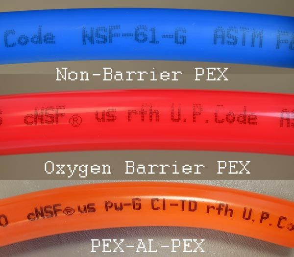 Pex Pipe Markings All Pex Pipe Is Manufactured With Its