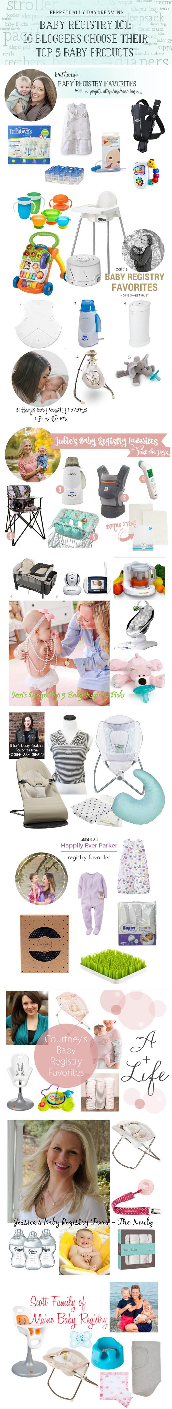 Baby Registry 101: 10 Mama Bloggers Pick Their Top 5 Baby Products - Perpetually Daydreaming