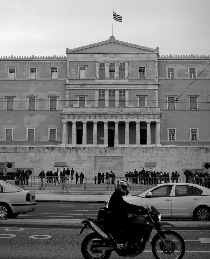 Athens Greece Food & Travel Diary - My Kiki Cake - Sydney Food Blog - Syntagma.   missing this street