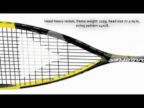 Tecnifibre Carboflex 125 Squash Racket Review by SquashPlayerStore.   Visit http://www.squashplayerstore.com/, the best online squash gear source dedicated to bringing you great offers on squash rackets, balls, clothing and accessories.