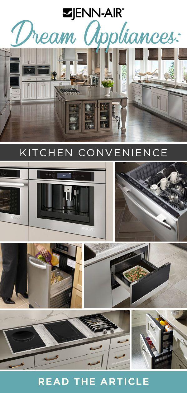 Planning A Convenient Kitchen With Jenn Air Appliances Decoracion De Unas