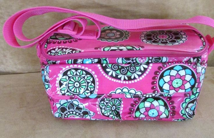 Vera Bradley Pink Cupcakes Pvc Insulated Lunch Bag Purse
