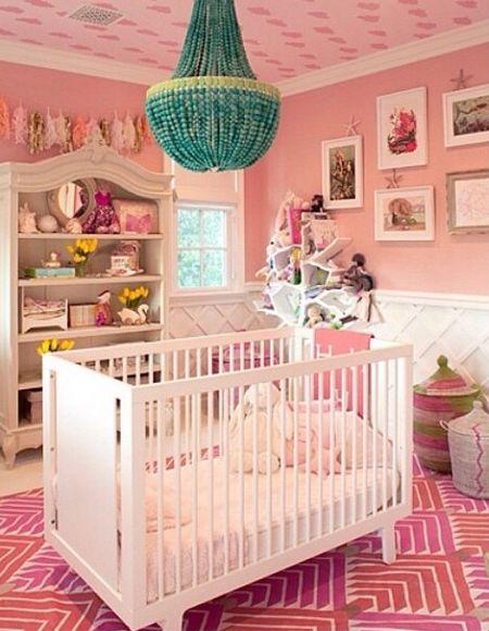 kourtney shares nursery for