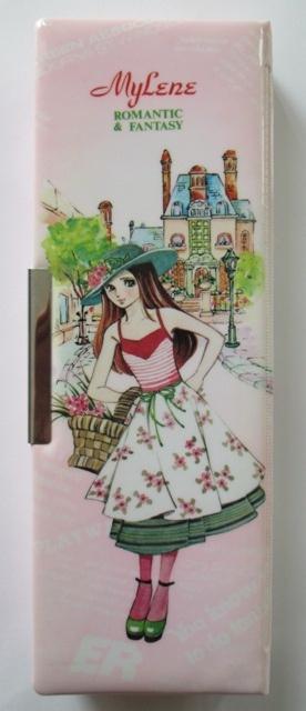 Mylene pencil case (Japan, 1980s) front | Flickr - Photo Sharing!
