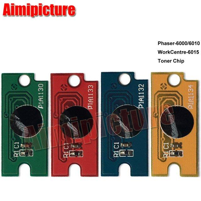 For Xerox Phaser 6000 6010 Workcentre 6015 Toner Cartridge Chip