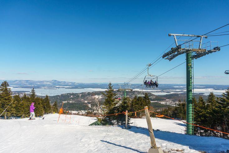 Du ski dans le New Hampshire, à deux heures de Boston