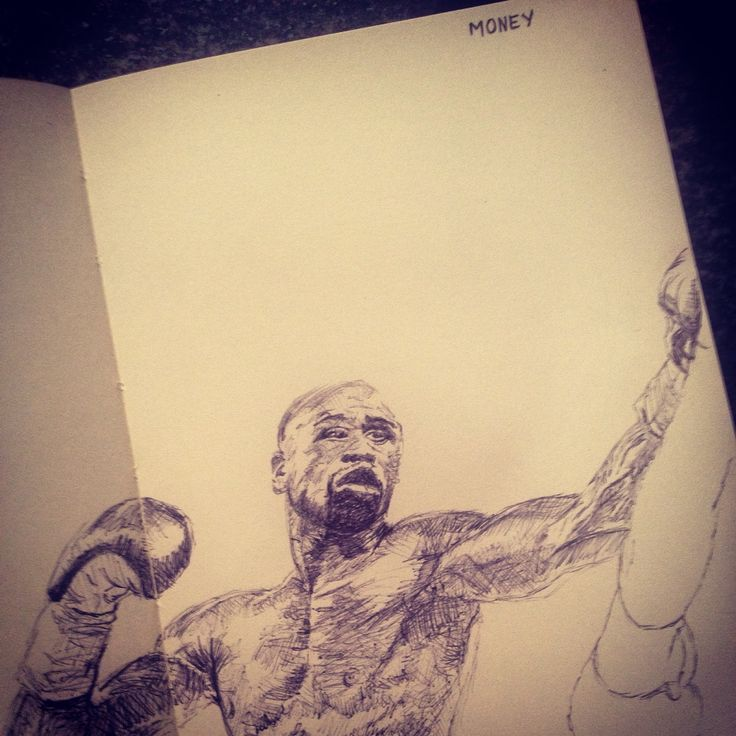 The Best Ever in action Floyd Mayweather