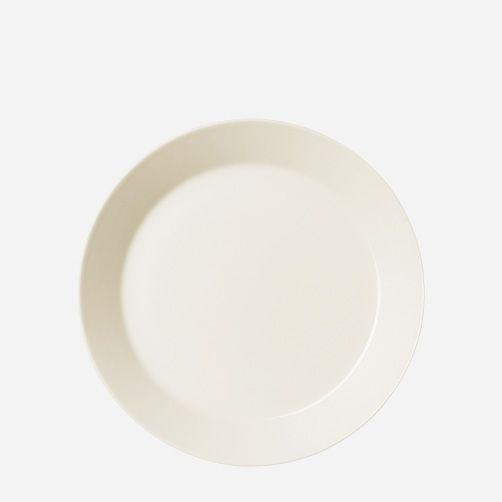 TEEMA medium plate. Designer: Kaj Franck. Maker: iittala/arabia Finland