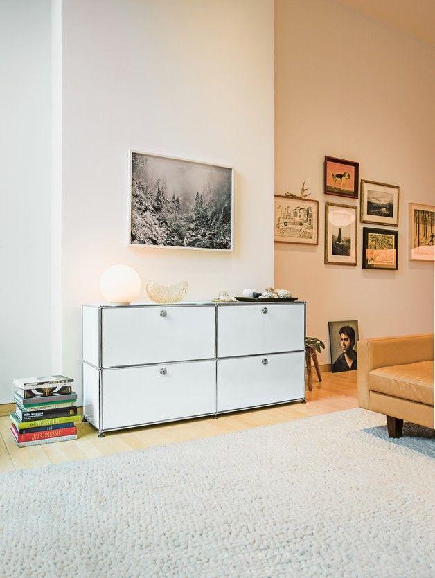 25 best ideas about usm haller sideboard sur pinterest. Black Bedroom Furniture Sets. Home Design Ideas