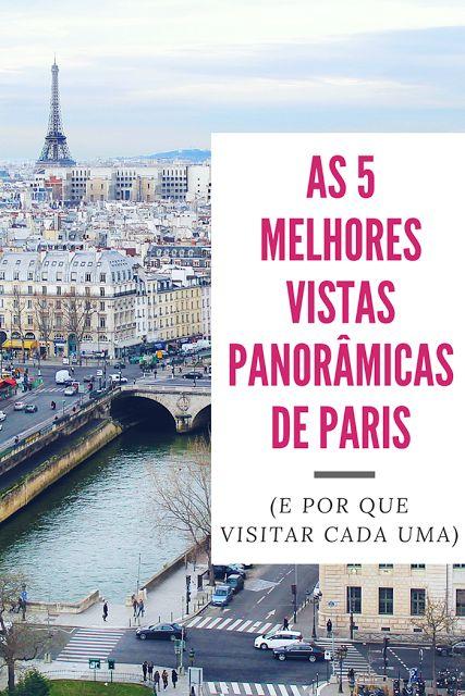 As 5 melhores vistas panorâmicas de Paris - Drawing Dreaming