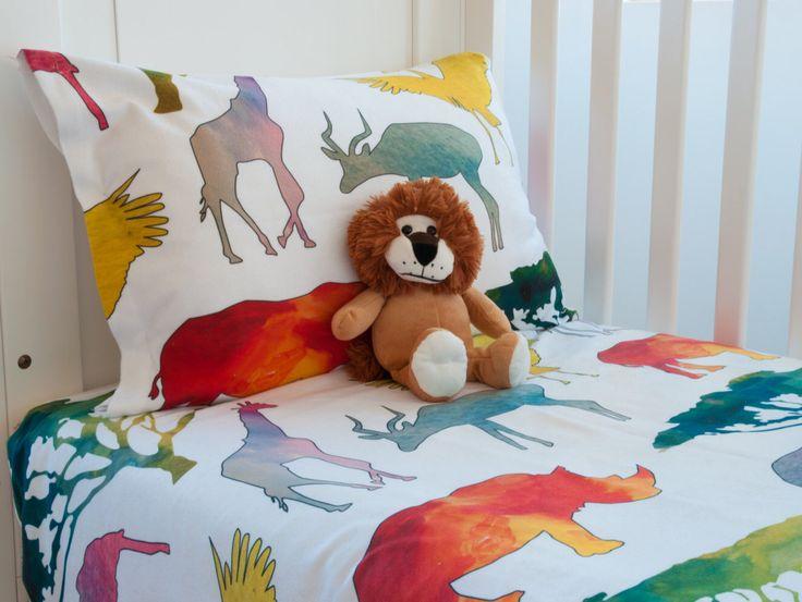 Animal Print Toddler Duvet Cover - Crib Bedding Set - Toddler Bedding - Twin Duvet Cover - Gender Neutral Duvet Cover - Matching Wall Art by WakeUpDuvets on Etsy https://www.etsy.com/au/listing/488671873/animal-print-toddler-duvet-cover-crib