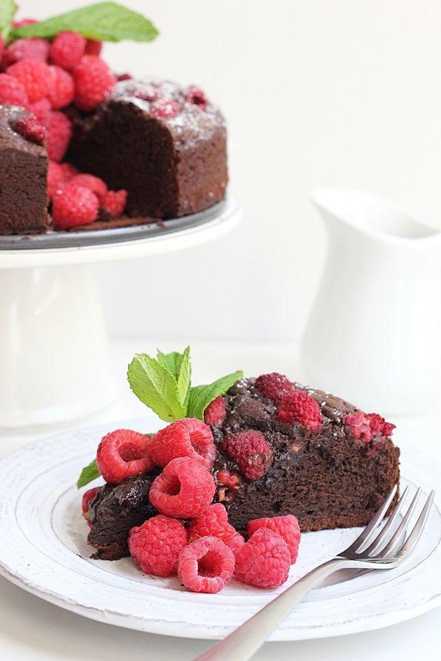 Gateau Au Chocolat Et Aux Framboises Chef Time Au Aux Chef Chocolat Framboises Gateau Raspberry Cake Chocolate Raspberry Cake Chocolate Raspberry