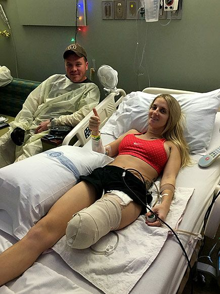 This wounded US Marine Kirstie Ennis lost her leg in a fight in Afghanistan can get a Amen or a Oorah?