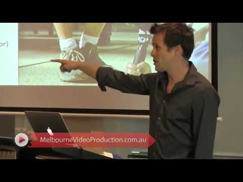 """In this video clip, David Jenyns will teach you the basics of setting up web videos. He gives tips on how to set up your cameras and angles prior to the shoot. He points out the importance of good angles and right camera positions.   To know more about how you can setup your videos and tell your story, visit http://www.melbournevideoproduction.com.au/video-production-in-melbourne/web-video-melbourne/"""
