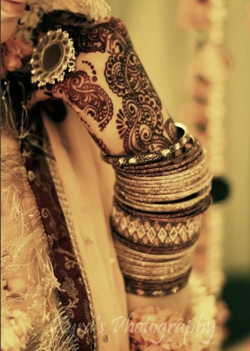 South Asian Bridal Henna Mehndi Bangles