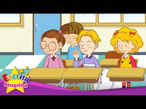 Good morning. - How are you? (Easy Dialogue) - English video for Kids - English Sing sing - YouTube