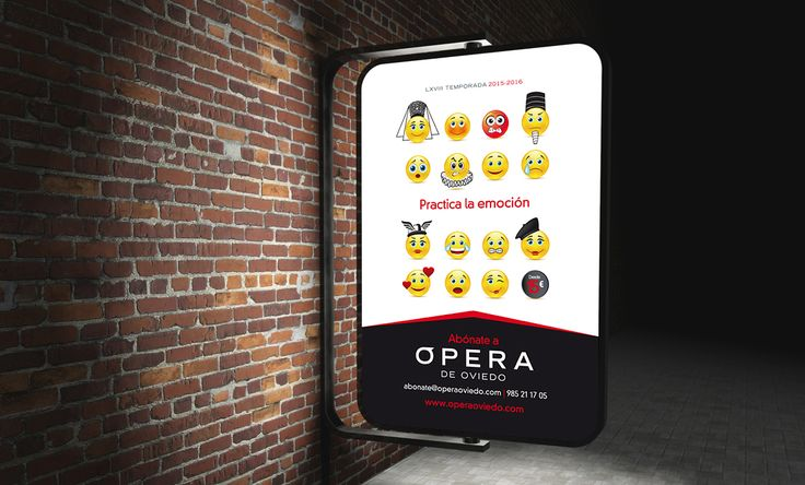 Campaña creativa para Opera Oviedo 2015 por Impact 5