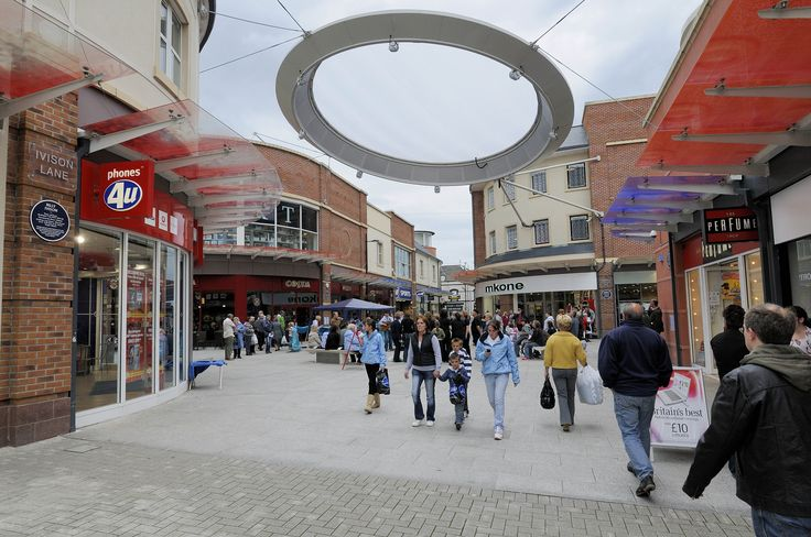 The Hub feature in Workington. Could this be the memorial to the man who invented donuts?