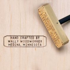 Personalized Wood Branding Irons   Burn, Baby, Burn: The Rockler Wood Branding Iron