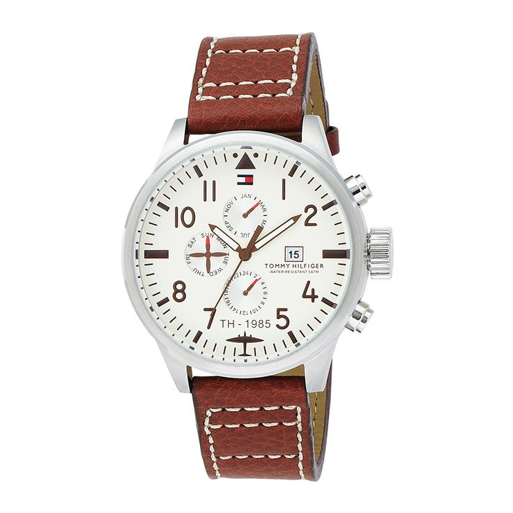Tommy Hilfiger Men's 1790684 Sport Multi Eye Stainless Steel Watch -- Visit the image link more details.