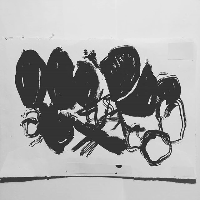 #inktober day 21. Ink drawing by artist David Andrews. (#abstract #ink #drawing #acrylic #blackandwhite #inktober2016)