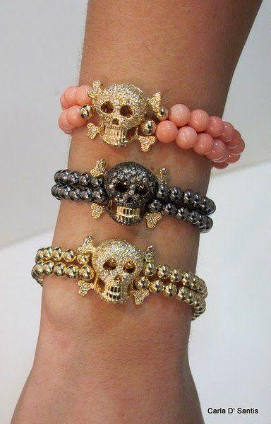 skull bracelets❤