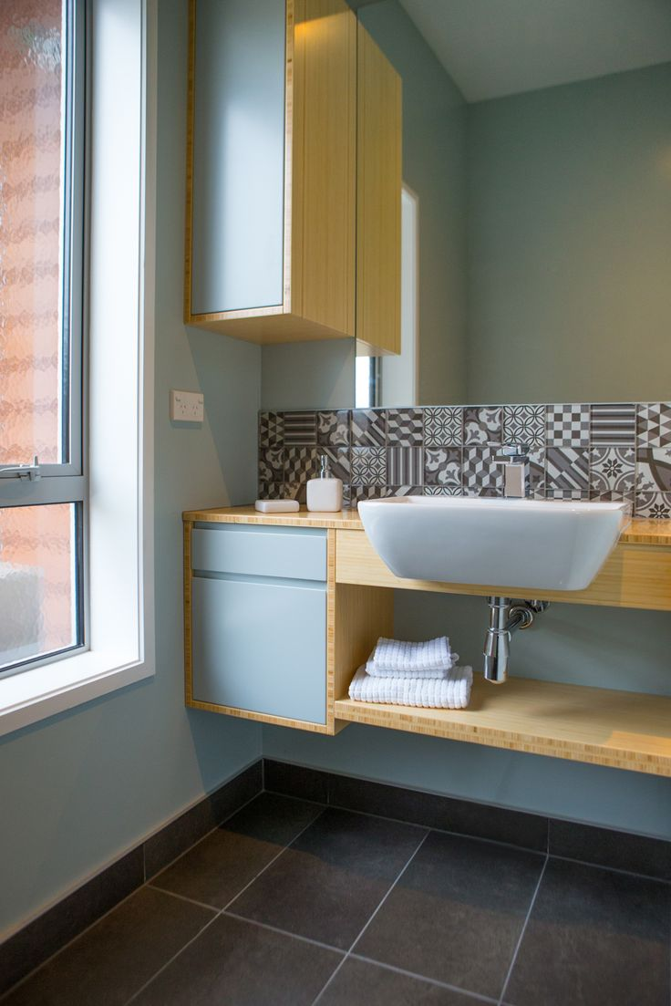 Bathroom 627. Sally Steer Design Ltd. Wellington, NZ