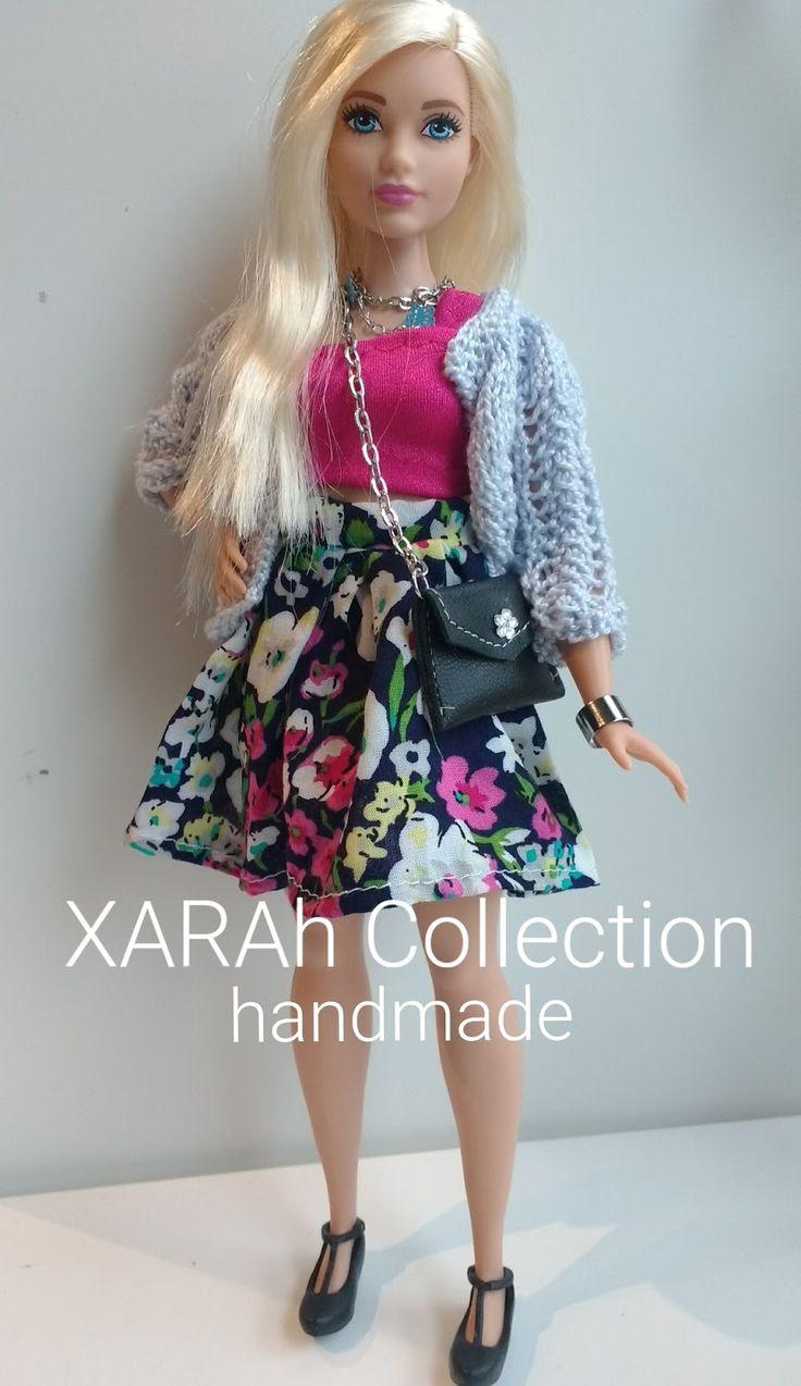 Barbie Curvy tiene otras medidas, en Xarah puedes encontrar, short, leggins, camisetas, vestidos, bañadores y si quieres otra cosa consultam...