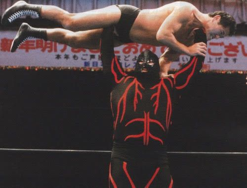 STRENGTH FIGHTER™: Big Van Vader looking like a fat woman