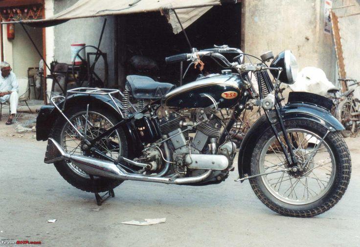 BSA 1937 G14 1000Cc V Twin Bsa motorcycle, Classic bikes