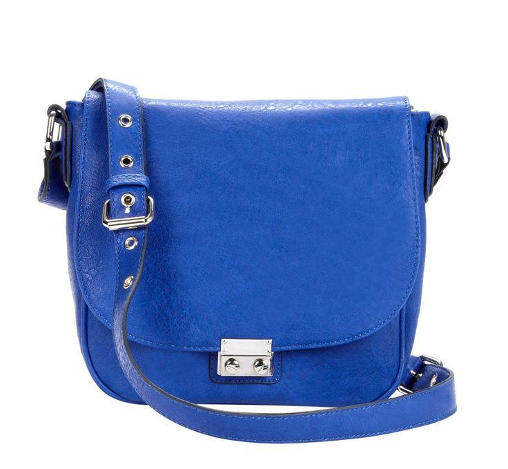 Blue Saddle Bag