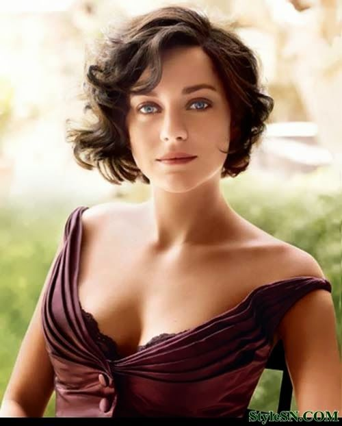 Hairstyles For Short Wavy Hair For Women