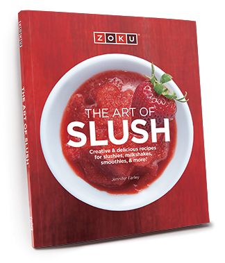 Available now at www.littlelolaboutique.com.au This book features an assortment of slushies (as well as milkshakes and smoothies) that are designed to work with the Zoku Slush and Shake Maker. The Art of Slush contains both healthy and decadent options with room for flexibility and fun. With the broad range of ingredients in these recipes, you can create artful slush masterpieces to delight everyone.
