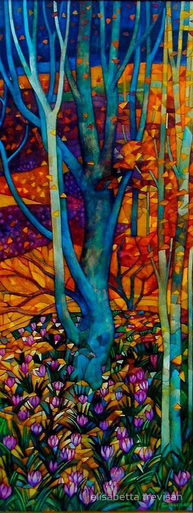 Colour Outside the Lines - Marzo - Elisabetta Trevisan.    For similar pins please follow me at - https://www.pinterest.com/annelouise1959/colour-outside-the-lines/