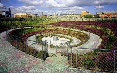 Parc Central del Poblenou, designed by Jean Nouvel