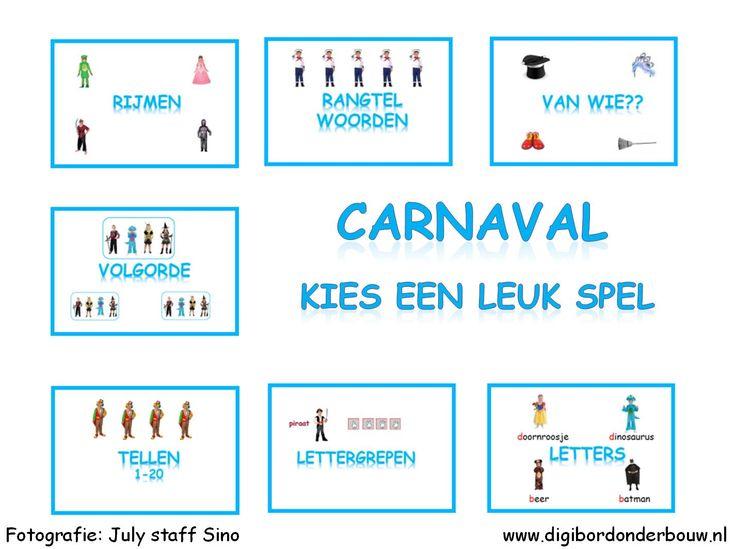 Powerpoint Downloads - Carnaval 7 verschillende spelletjes