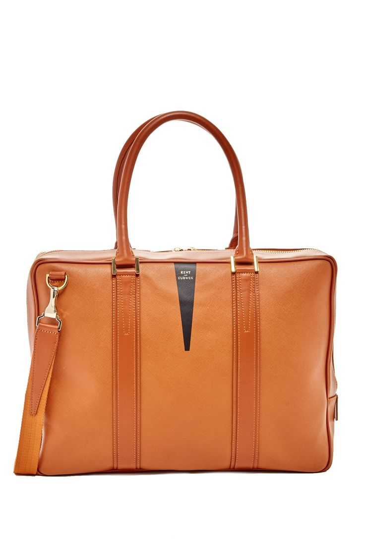 Kent & Curwen - 12 Hour Leather Briefcase at Nordstrom Rack. Free Shipping on orders over $100.