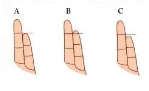 Podívejte se na svoje prsty: prsteníček, malíček a zjistěte, jaký typ osobnosti jste! | BystráLiška.cz