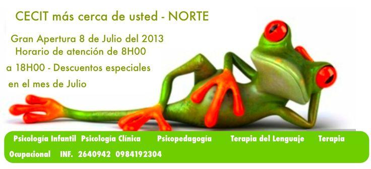 Centro Terapeutico CECIT en el norte de Quito
