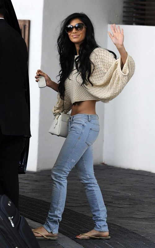 Nicole Scherzinger never fails to make a statement. Even with her everyday looks.