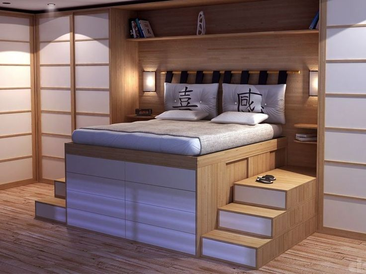 Super Les 25 meilleures idées de la catégorie Lit double en bois sur  PJ36