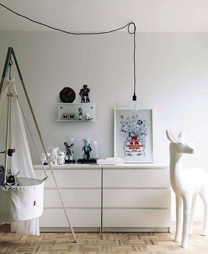 Nursery, cradle / Dětský pokojík, kolébka