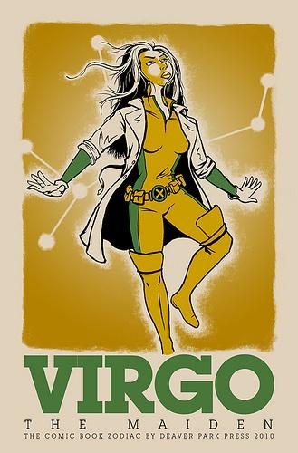 Virgo, the comic book character  Image from  brentbaldwin's Flickr stream